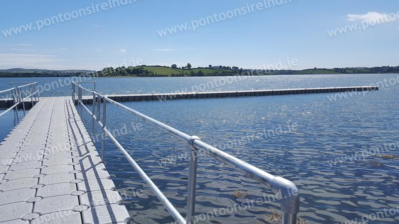 Pontoons Ireland, we sell we hire we install all over ireland.