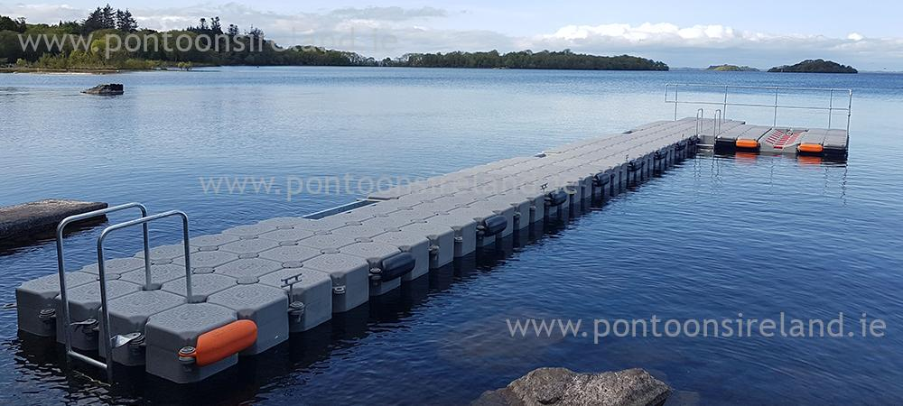 Pontoons Ireland The leading supplier of floating pontoons