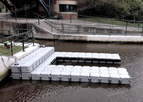 Pontoon Installation by Pontoons Ireland, we install all over Ireland.